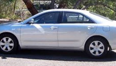 sell my car – toyota camry silver