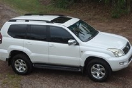 sell my car toyota prado white