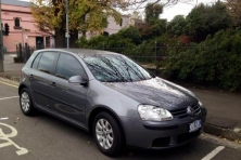 sell ym car – volkswagen gold grey