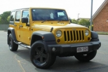 SELL MY CAR – JEEP WRANGLER YELLOW