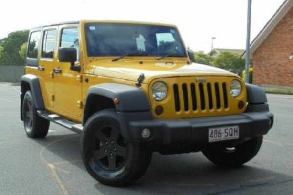 SELL MY CAR - JEEP WRANGLER YELLOW