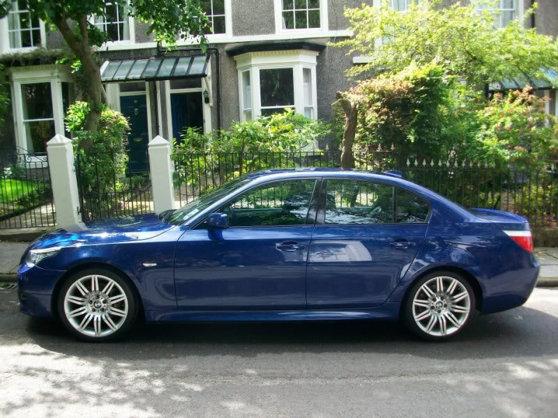 sell my car – BMW blue