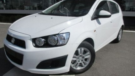 sell my car – Holden barina white