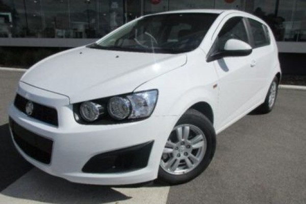 sell my car - Holden barina white