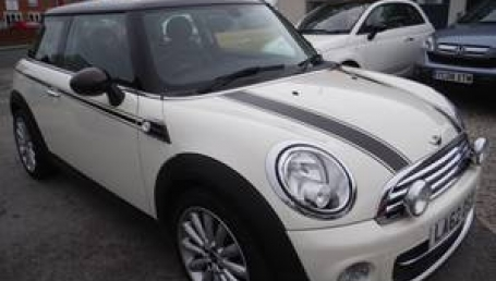 sell my car – Mini white