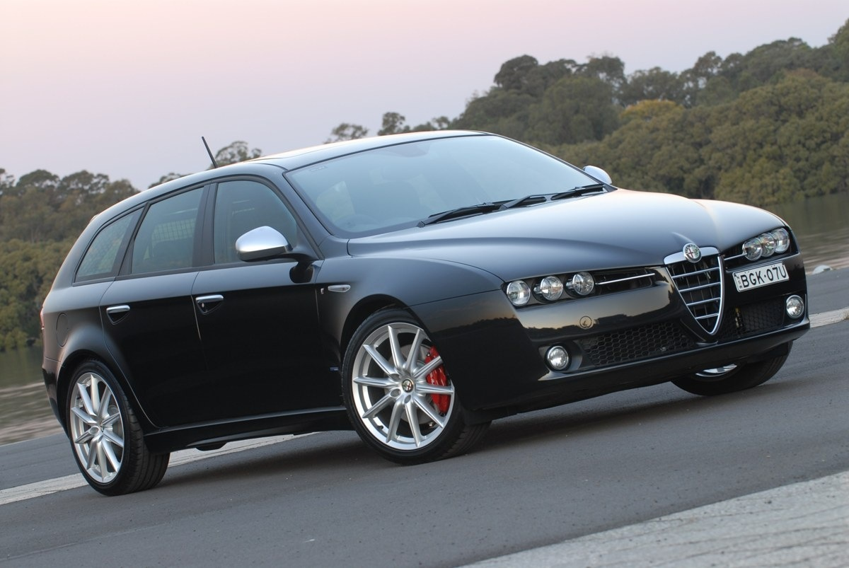 sell my car – alfa romeo black