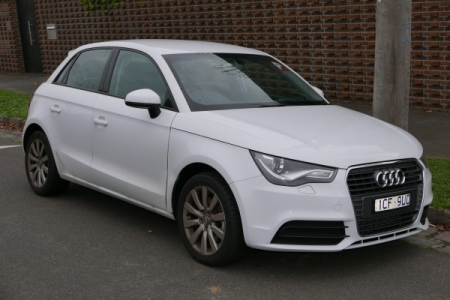 sell my car – audi a1 white