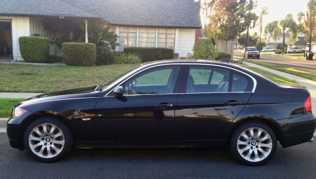sell my car – bmw 330i black