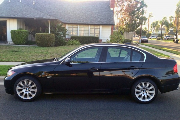 sell my car - bmw 330i black