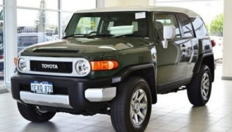sell my car – fj cruiser grey