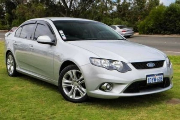 sell my car - ford falcon silver