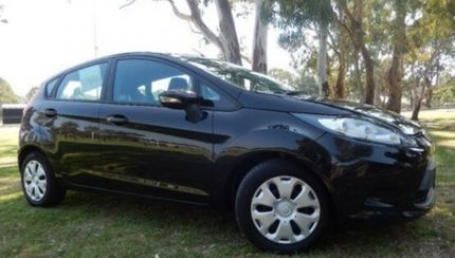 sell my car – ford fiesta black
