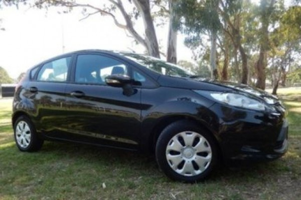 sell my car - ford fiesta black