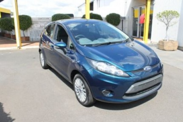 sell my car – ford fiesta blue