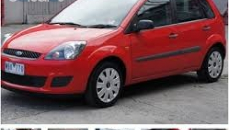 sell my car ford fiesta red