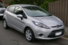 sell my car – ford fiesta silver