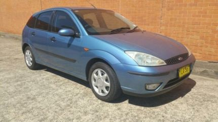 sell my car – ford focus blue