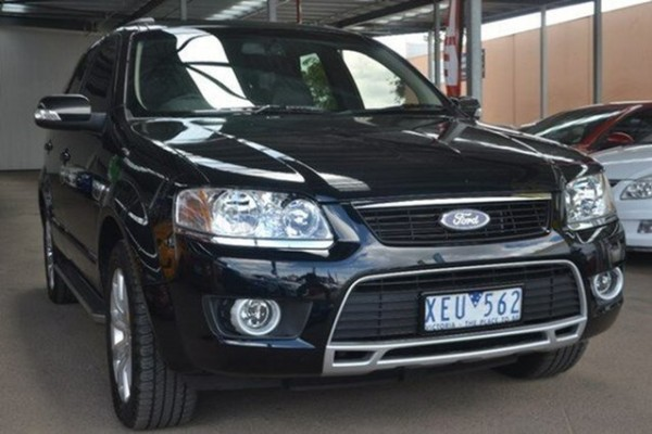 sell my car - ford territorry blaCK