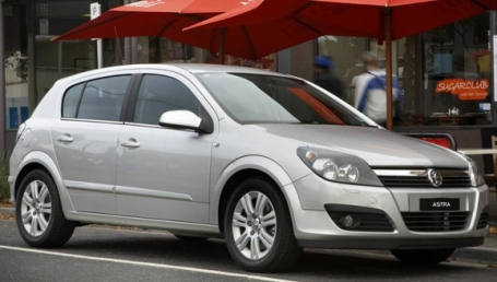 sell my car- holden astra silver