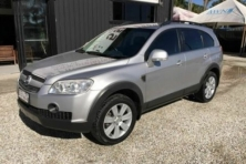 sell my car – holden captiva silver