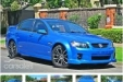 sell my car holden commodore blue