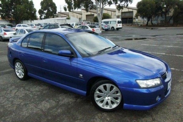 sell my car - holden commodore blue