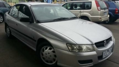 sell my car – holden commodore silver