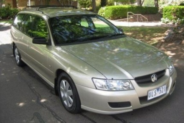 sell my car - holden commodore wagon gold