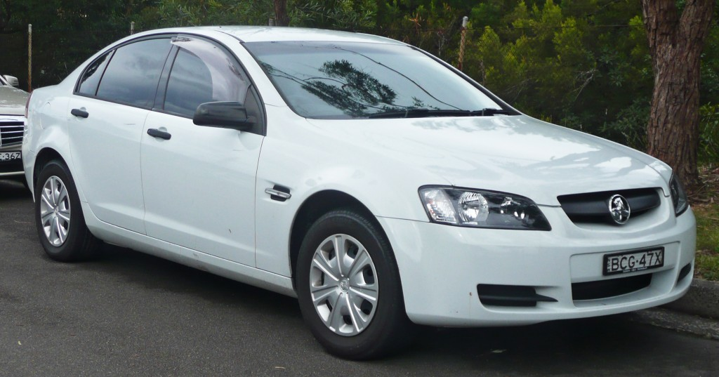 sell my car - holden commodore white
