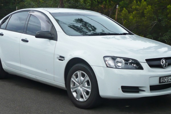 sell my car – holden commodore white