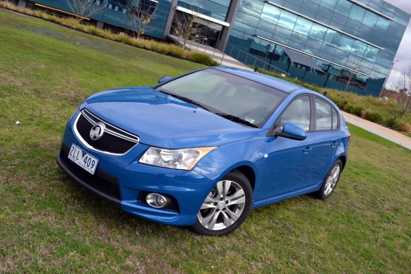sell my car - holden cruze blue