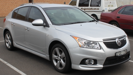 sell my car – holden cruze grey