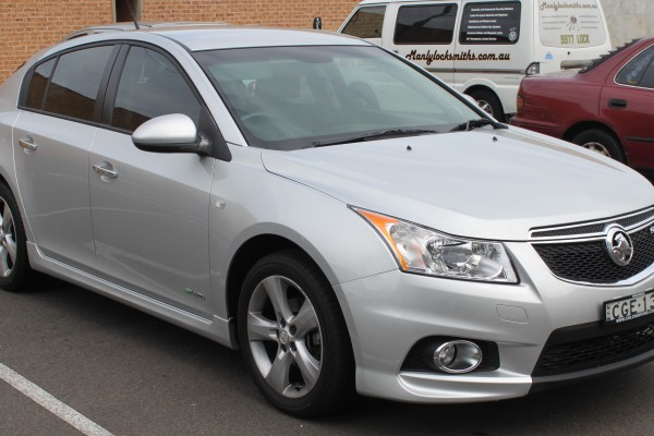 sell my car - holden cruze grey