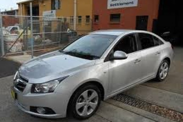 sell my car - holden cruze silver