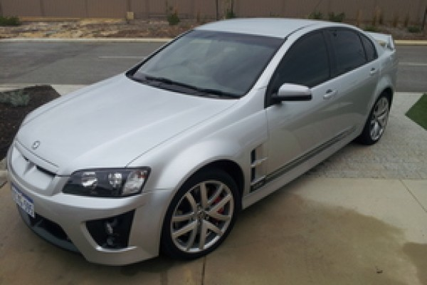 sell my car – holden hsv silver