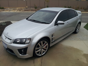 sell my car - holden hsv silver