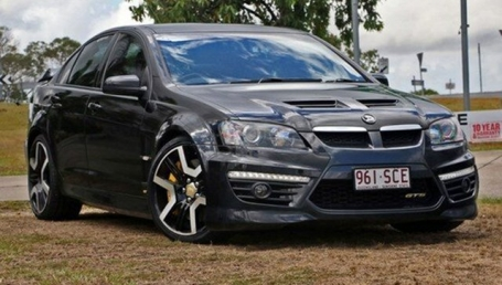 sell my car – holden sedan black