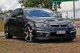 sell my car - holden sedan black