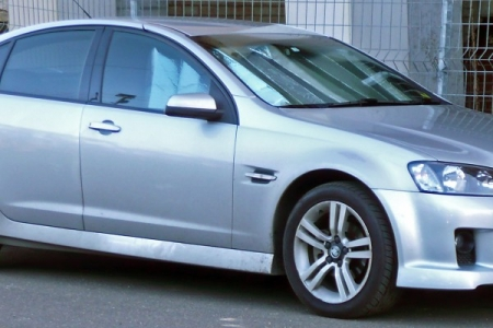 sell my car – holden sv6 silver