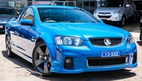 sell my car – holden thunder ute blue