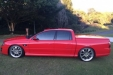 sell my car - holden ute red