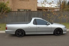 sell my car – holden ute silver