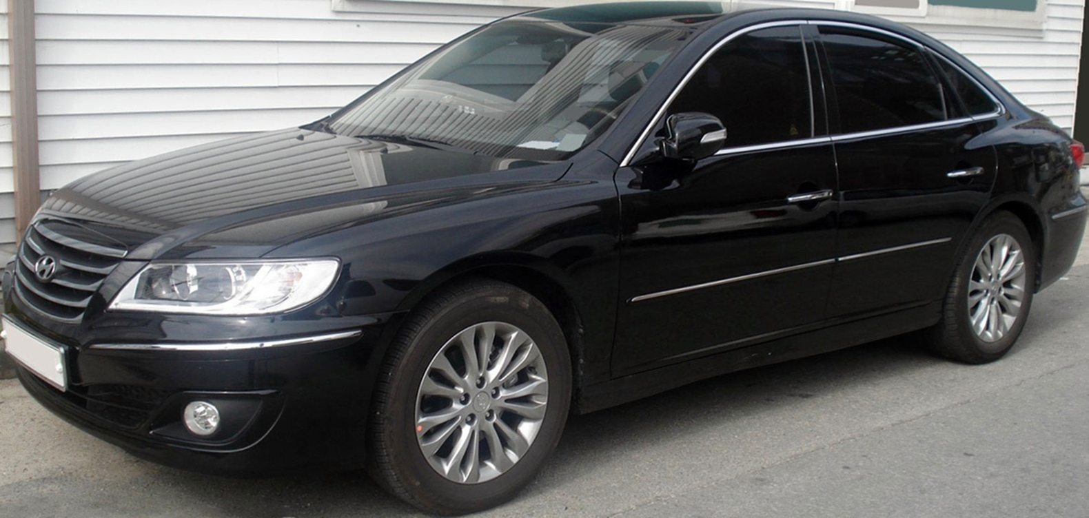 sell my car – hyundai grandeur black