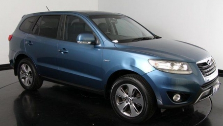 sell my car – hyundai santa fe blue