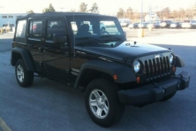 sell my car – jeep wrangler black