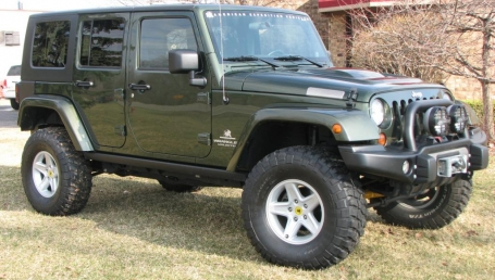sell my car – jeep wrangler green