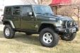 sell my car - jeep wrangler green