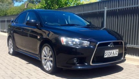 sell my car – lancer black