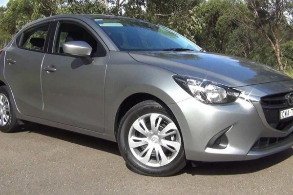 sell my car - mazda 2 grey
