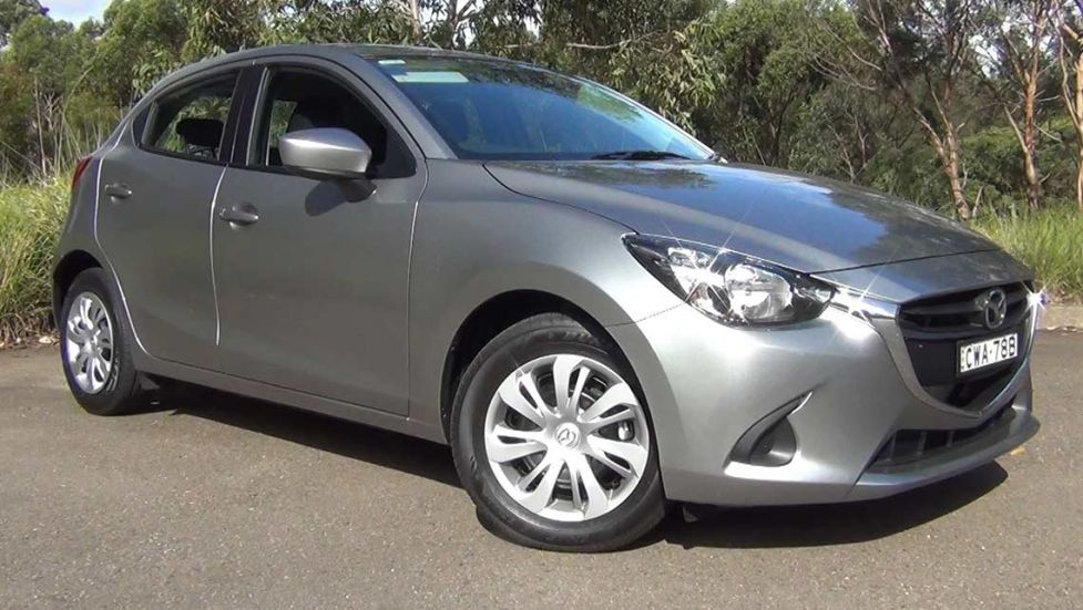 sell my car – mazda 2 grey